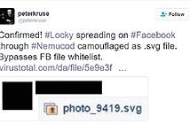 Coi chừng bị mã hóa dữ liệu với biến thể Locky trên Facebook