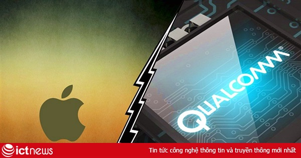 Apple kiện ngược Qualcomm vi phạm bản quyền