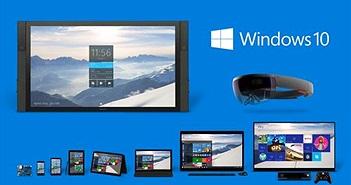 Windows 10 đã cài trên 600 triệu máy tính, mục tiêu 1 tỷ vẫn còn xa vời