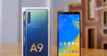 Mở hộp Samsung Galaxy A9: 4 camera sau, màu sắc mới thú hút sự chú ý