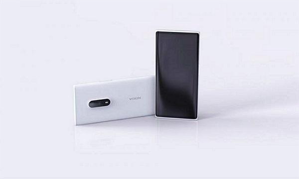 Chiêm ngưỡng concept Nokia Lumia màn hình tràn viền ấn tượng