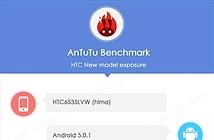 HTC Hima (One M9) màn hình 5 inch lộ diện trên trang benchmark