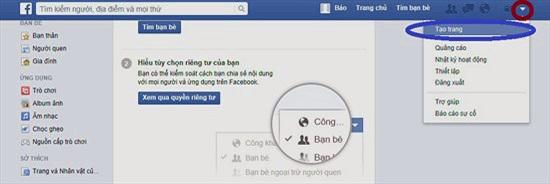 Tạo fanpage Facebook như thế nào?