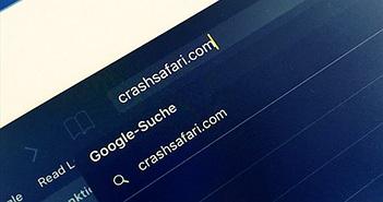 Trang web làm iPhone khởi động lại ngay khi truy cập