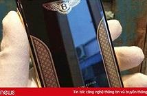 iPhone X đặc biệt: iPhone X Bentley Edition dát vàng 18k của Việt Nam