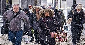 """Dân Mỹ giữa giá rét kỷ lục hơn Nam Cực: """"Tôi lạnh và sợ hãi"""""""
