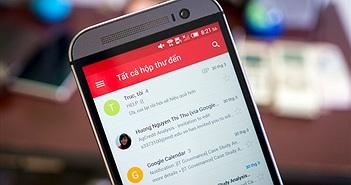Gmail cho Android đã hỗ trợ xem thư mới từ nhiều tài khoản trong một giao diện duy nhất