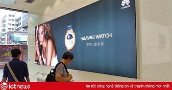 Huawei bán được 139 triệu smartphone, doanh thu 25,9 tỷ USD năm 2016