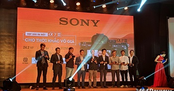 Sony A7 III cảm biến Full Frame chính thức ra mắt tại Việt Nam: Lấy nét Eye AF, giá 49 triệu đồng