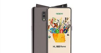 Oppo Reno có camera trước kiểu ti hí ngộ nghĩnh