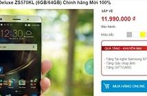 Giá bán ASUS ZenFone 3 chính hãng tại Việt Nam là 5,99 triệu đồng?