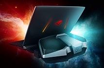 Asus ra mắt RoG GX800, laptop tản nhiệt rời cùng 2 card đồ họa