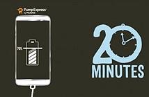 Pump Express 3.0 của MediaTek sạc 20 phút lên 70% pin