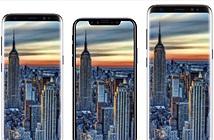 Thiết kế cuối của iPhone 8 so dáng với Galaxy S8 vô cực