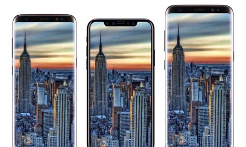 Thiết kế cuối của iPhone 8 so dáng với Galaxy S8 'vô cực'
