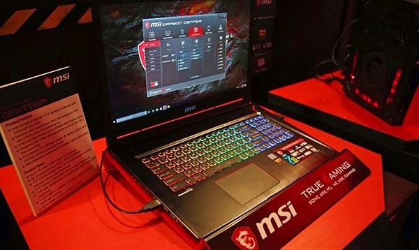 [Computex 2017] MSI trình làng laptop chơi game dùng màn hình HDR