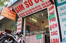 SIM số đẹp tăng giá sau thông tin rút về 10 số