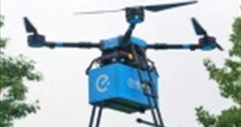 Startup Trung Quốc triển khai giao đồ ăn bằng máy bay không người lái