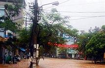 Mạng viễn thông Quảng Ninh bị thiệt hại do mưa lũ
