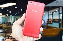Cận cảnh phiên bản Oppo F3 màu đỏ