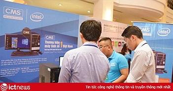 Máy tính CMS lần thứ 16 liên tiếp nhận giải thưởng Top ICT Việt Nam