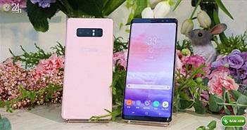 Samsung ra mắt Galaxy Note 8 màu hồng đầy nữ tính