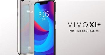 BLU Vivo XI+ trình làng chạy Android Pie, đẹp như iPhone X