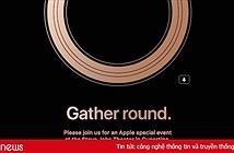 Apple gửi thư mời sự kiện iPhone ngày 12/9