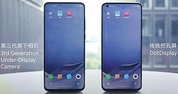 Loạt smartphone mới của Xiaomi sẽ có camera ẩn dưới màn hình
