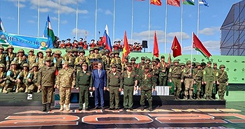 Hơn 20 kỷ lục được thiết lập tại Army Games 2021
