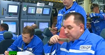Bất ngờ bên trong siêu tàu ngầm hạt nhân Borey Nga