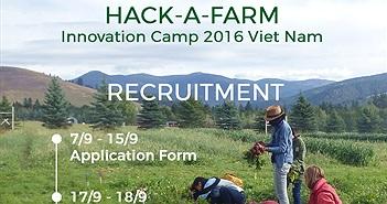 Ý tưởng tốt về nông nghiệp thông minh sẽ được tài trợ 25.000 USD