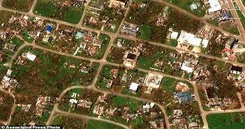Ảnh: Siêu bão Yutu gây thiệt hại nặng nề khi đổ bộ vào Philippines