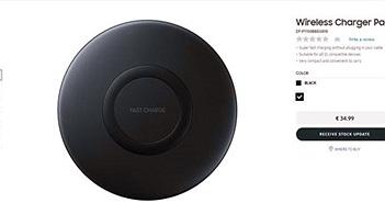 Bộ sạc không dây rẻ nhất của Samsung sắp ra mắt