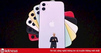 Apple lập kỷ lục doanh thu bất chấp iPhone bán chậm