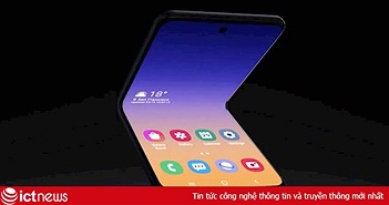 Xuất hiện smartphone concept Galaxy Fold vỏ sò