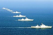 Loạt chiến hạm tối tân nhất Việt Nam tập trung huấn luyện tác chiến