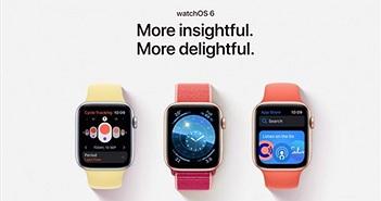 Apple ra mắt Apple watchOS 6.1, có sẵn cho cả Watch Series 1 và 2