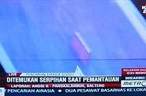 Thấy vật thể giống cửa máy bay QZ8501 tại biển Java