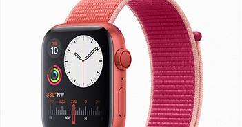 Apple Watch phiên bản màu đỏ sẽ trình làng vào mùa xuân tới