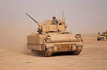 Đánh chặn khó, Mỹ dùng xe chiến đấu bảo vệ Vùng Xanh
